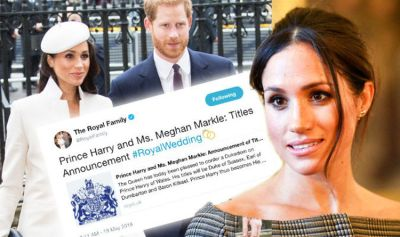 Meghan Markle title: Why Prince Harry bride new name makes ...