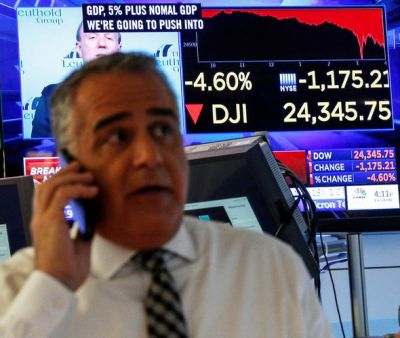 Dow Jones price: Dow falls another 1,000 points after MASSIVE drop on Friday | City & Business ...
