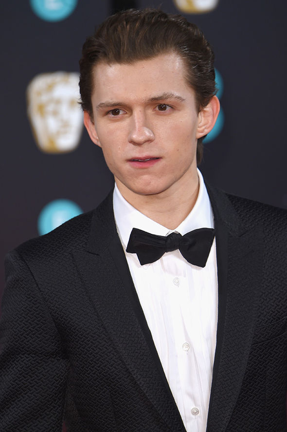 Spider Man news   Tom Holland comes face to face with Andrew     Tom Holland