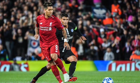 Liverpool 3-2 PSG: Roberto Firmino scores stoppage-time winner in Champions League opener ...