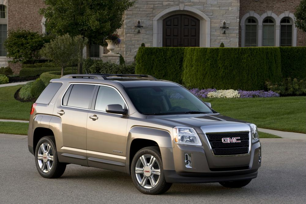 Top Ranked Cars  Trucks and SUVs in the J D  Power 2014 Initial     2014 GMC Terrain