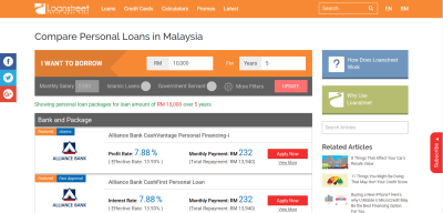 Best Personal Loan Deals in Malaysia - Compare & Apply Online