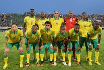 South Africa coach Mashaba names starting XI to face Ghana; Goalie Brighton Mhlongo replaces Khune