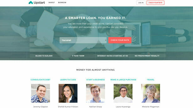 How Upstart Gives Loans To Young Adults Without Credit Scores