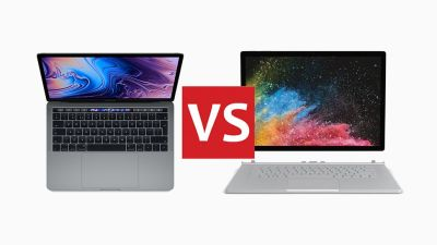 Apple MacBook Pro 2018 vs Microsoft Surface Book 2: head-to-head | T3