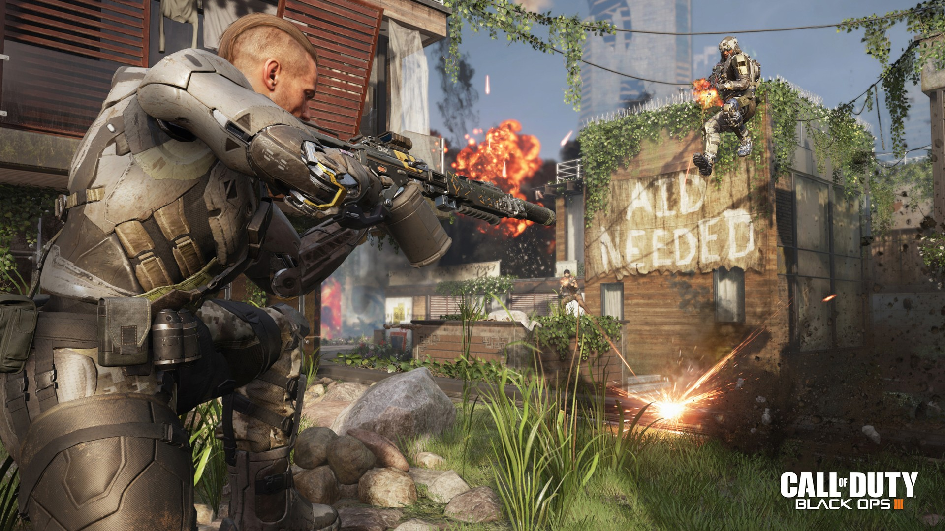 Call of Duty Black Ops 3 is a surprise free PlayStation Plus game     Call of Duty Black Ops 3 is a surprise free PlayStation Plus game this  month   TechRadar