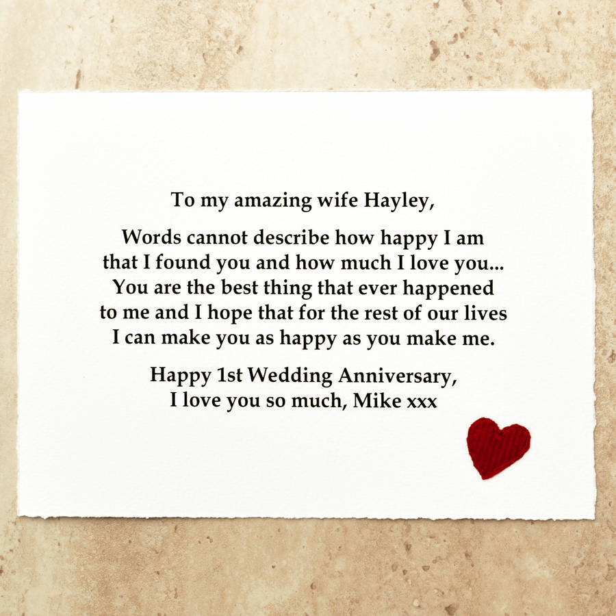 anniversary gift message in a bottle first wedding anniversary gift Personalised First Wedding Anniversary Gift Paper Scroll