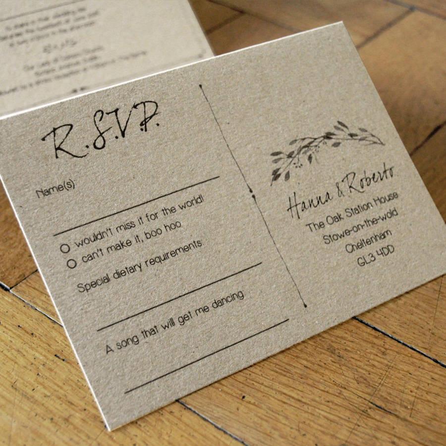 woodland story wedding invitation set wedding invitation set Woodland Story Wedding Invitation Set