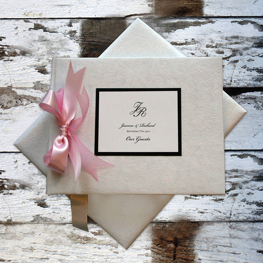 personalised guest book wedding books Wedding Guest Book Large Size