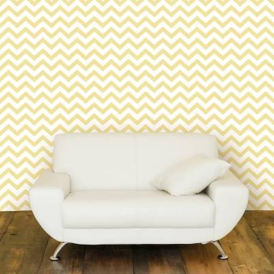 contemporary chevron self adhesive wallpaper by oakdene designs | notonthehighstreet.com