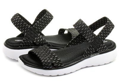 Skechers Sandals - Warped - 38596-bksl - Online shop for ...