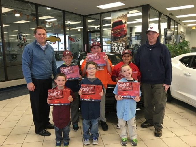 Woonsocket Little League Accepts Donation from Tasca Chevrolet     Woonsocket Little League Accepts Donation from Tasca Chevrolet