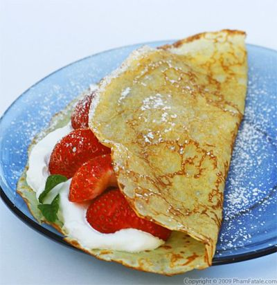 How to make a perfect sweet French crepe batter - Pham Fatale