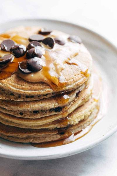 The Best Protein Pancakes Recipe - Pinch of Yum