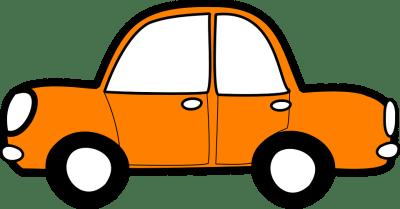Free vector graphic: Car, Orange, Vehicle, Transport ...