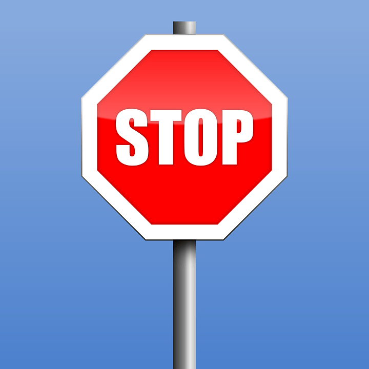 Stop Road Sign Warning      Free vector graphic on Pixabay stop road sign warning symbol stop sign halt