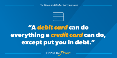 Cash vs. Credit Card: Which Should I Use? | DaveRamsey.com