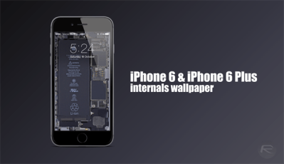 These iPhone 6 / 6 Plus Internals Wallpaper Will Literally Make Your Device Pop [Download ...