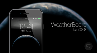 How To Add Animated Weather Wallpaper To iOS 8 Home Screen And Lock Screen [Video] | Redmond Pie