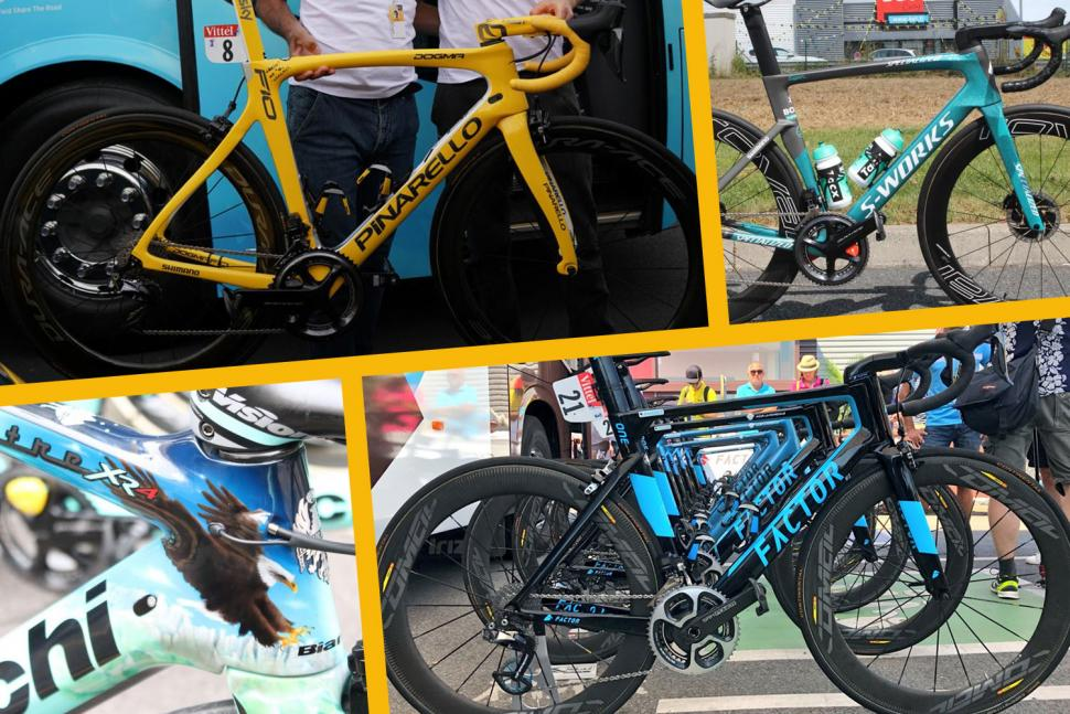 The winning bikes of the 2018 Tour de France   the bikes that won         2018 Tour de France  banner  TdFbikes