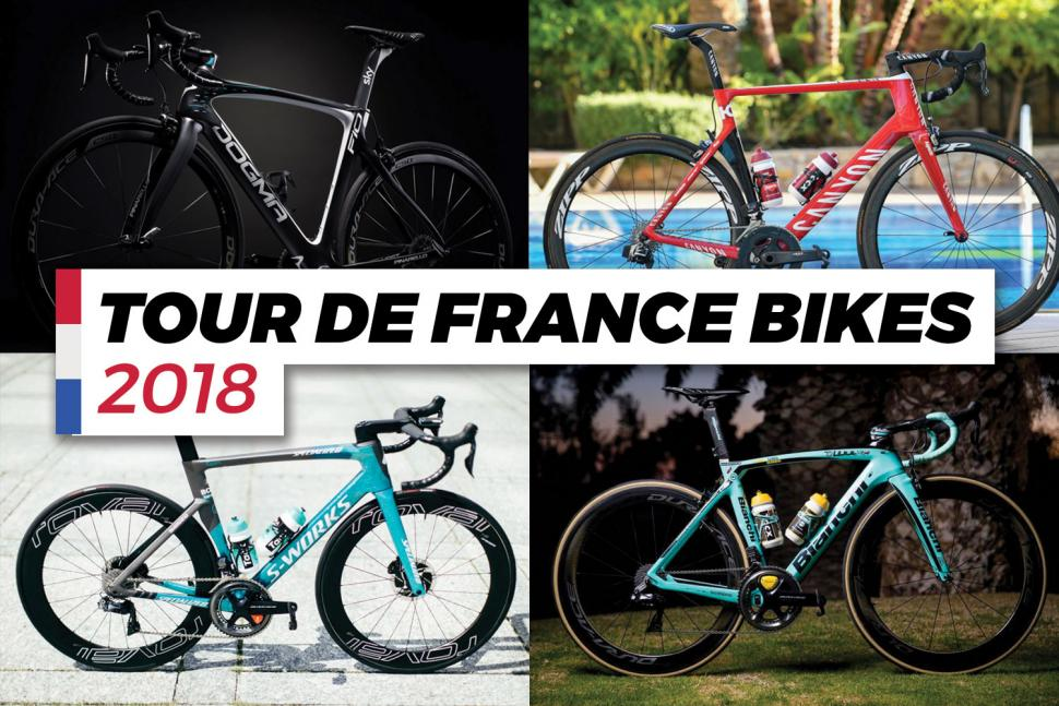 The bikes of the 2018 Tour de France     who s riding what in the     TourdeFrancebikes2018  TourdeFrancebikes2018