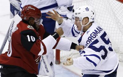 Auston Matthews scores for Maple Leafs in Arizona homecoming | 710 KNUS - Denver, CO