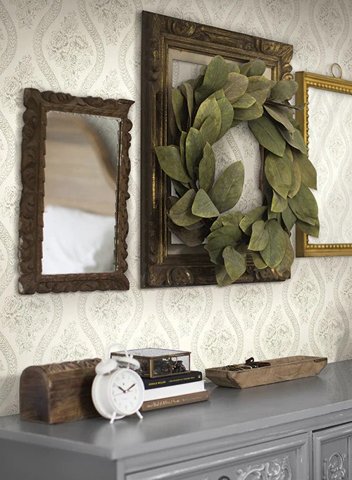 Coverlet Floral Wallpaper in White and Black from the Magnolia Home Co – BURKE DECOR