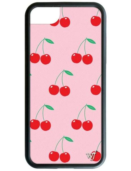 Pink Cherries iPhone 6/7/8 Case – Wildflower Cases