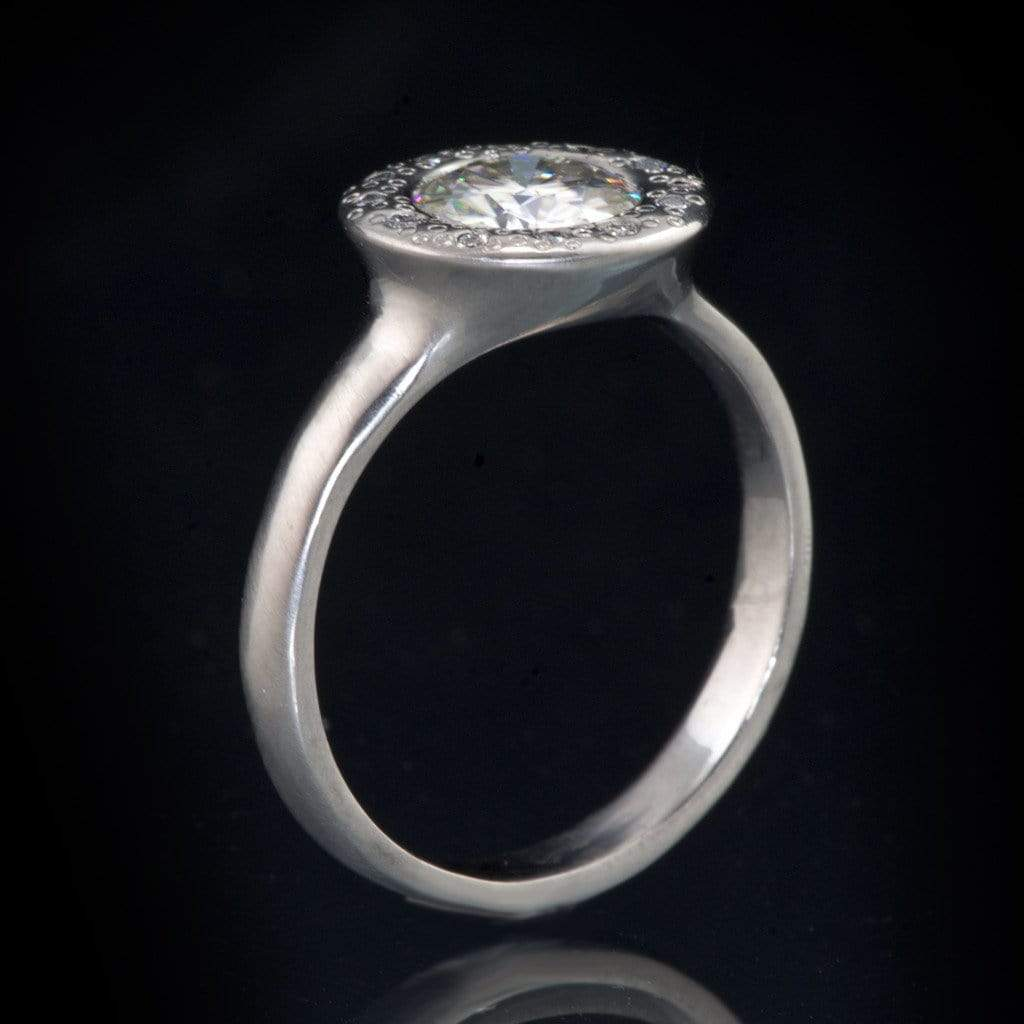 page 20 low profile wedding ring vintage engagement rings