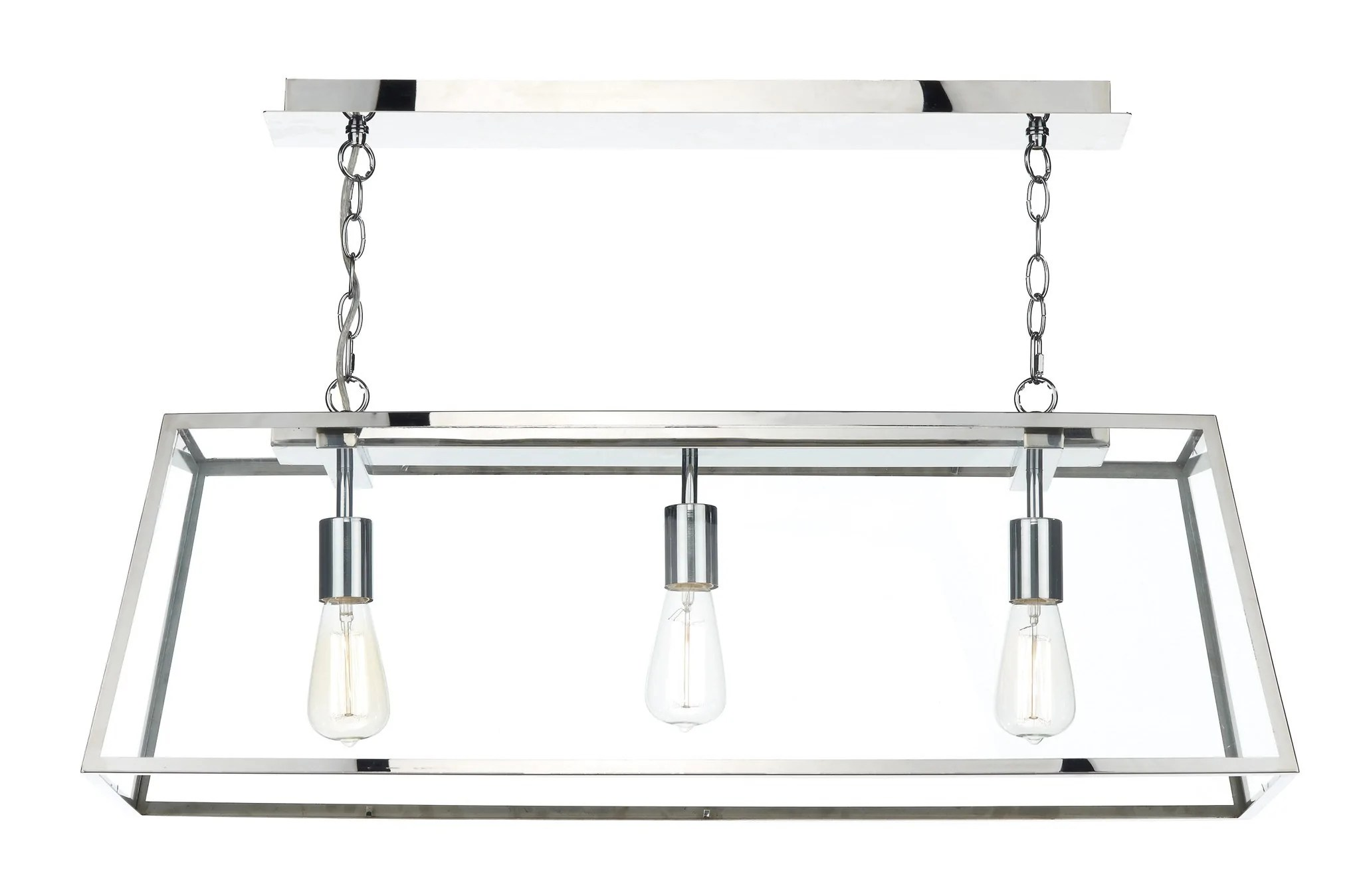 dar academy stainless steel 3 lamp ceiling light kitchen ceiling lighting Academy Stainless Steel 3 Lamp Ceiling Light London Lighting 1