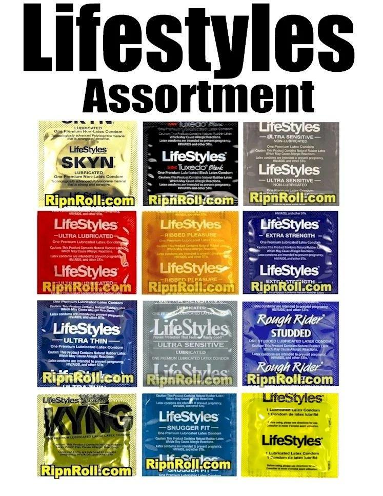 Lifestyles Condom Sampler- Assorted Lifestyles Condoms to ...