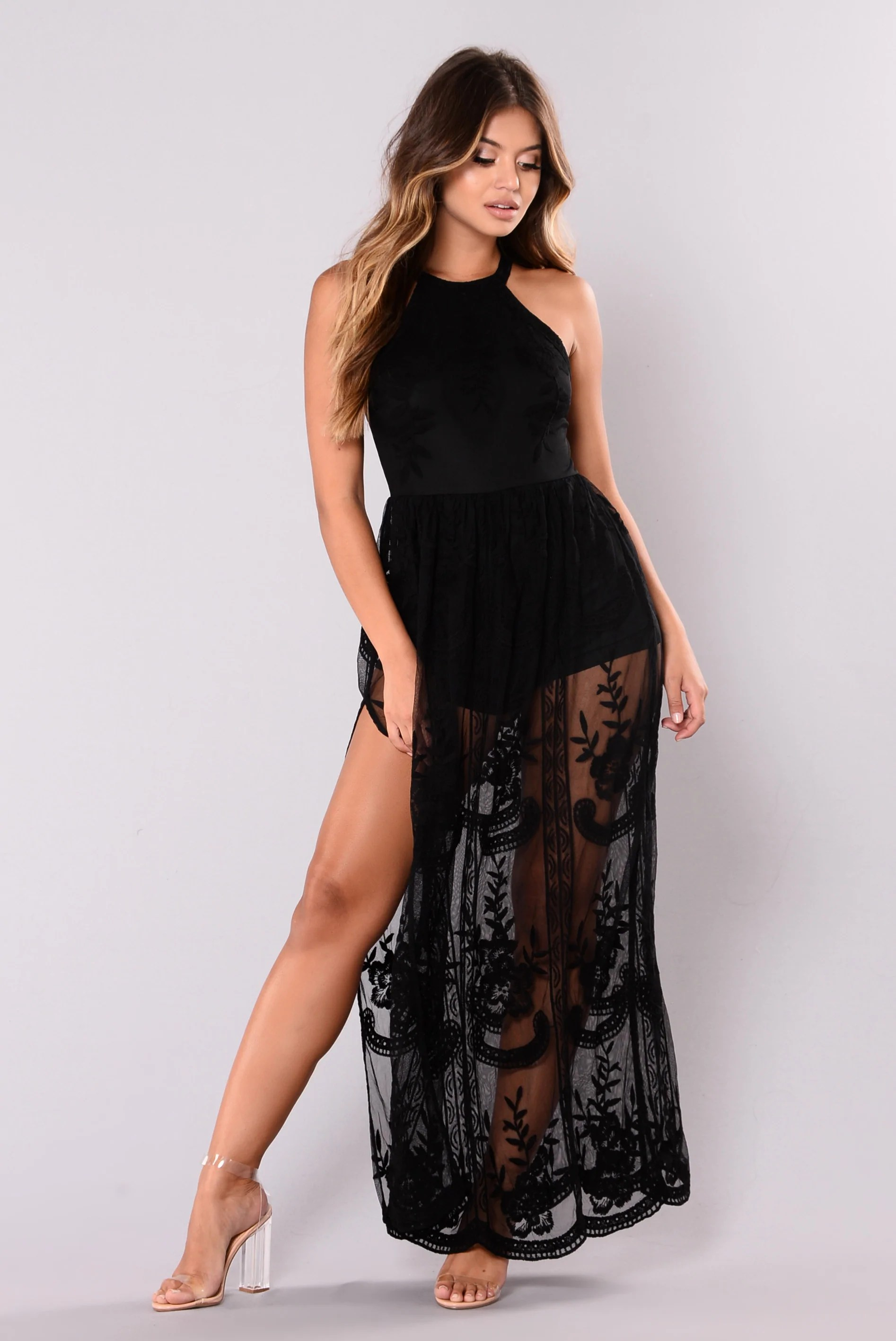 Just Love Me Dress - Black