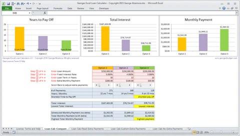 Georges Excel Calendar Year 2016 Spreadsheet – Buy Excel Templates