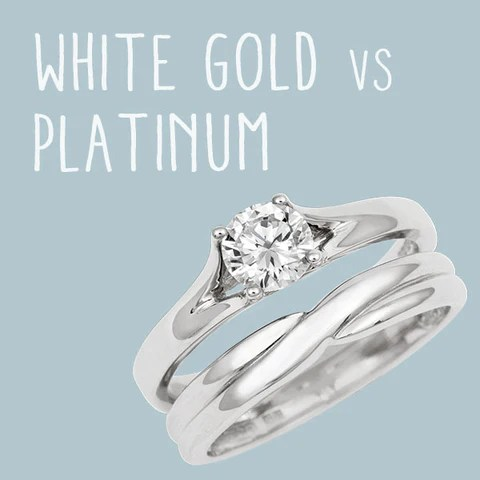 White Gold vs Platinum   Cred Jewellery