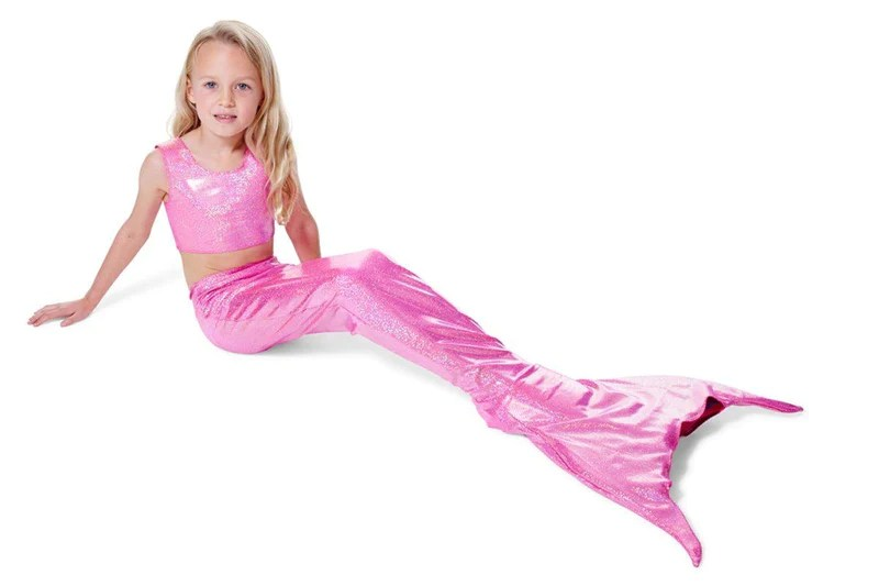 Princess Pink Mermaid Tail   Planet Mermaid UK Princess Pink Mermaid Tail 1