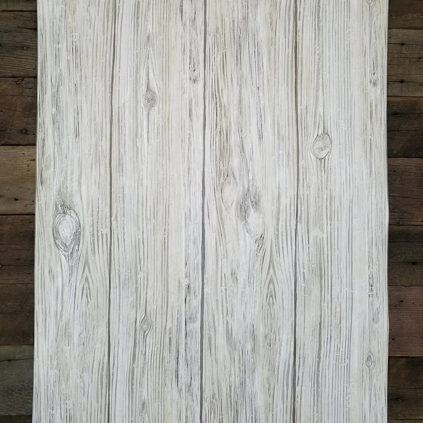 Gray Distressed Shiplap Rustic Wood Peel and Stick Wallpaper | RMK9086WP – D. Marie Interiors