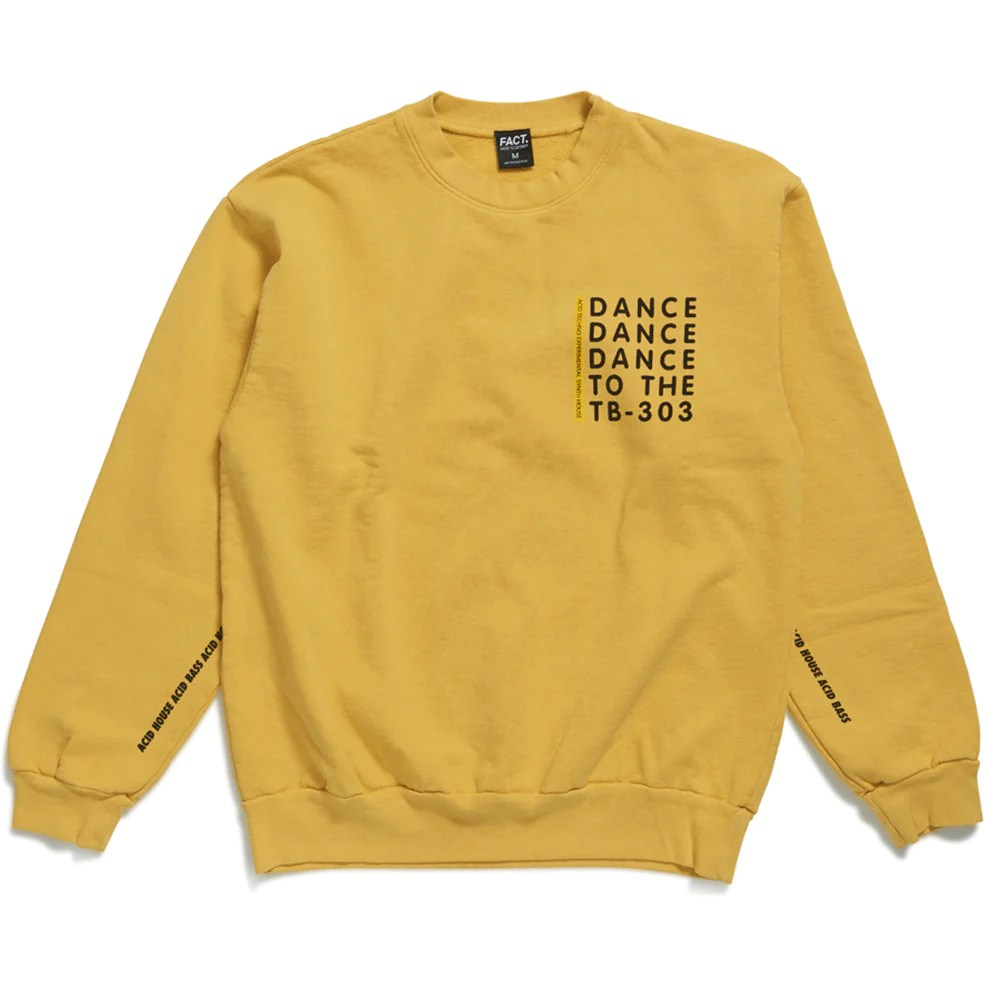 ALL     FACT  Brand Acid House   Crew Neck   Gold