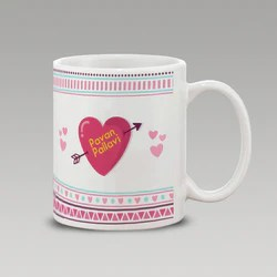 Love Mugs     photoexpress in Heart With Name