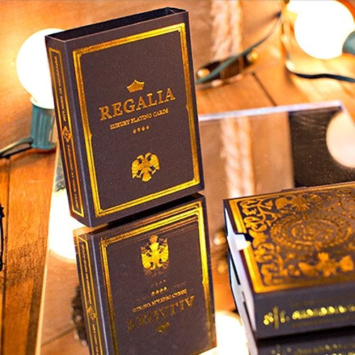 Regalia Playing Cards Luxury Limited Edition Deck Gold foiled cards – Buyworthy