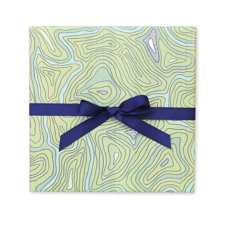 Gift Wrap   Tags     Page Stationery Topographic Map Gift Wrap