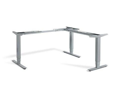 Height Adjustable Desks   Free delivery     Lavoro Advance Height Adjustable Corner Desk