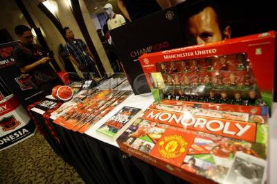 FOTO: The Official Manchester United Store hadir...