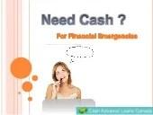 Cash Advance Loans- Get Easy Payday Money Advance Loans For Solve Une…
