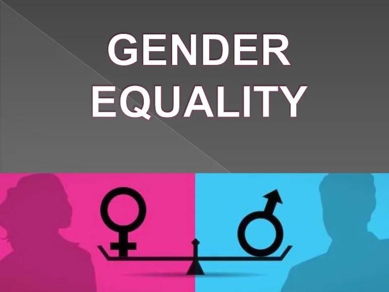 Gender equality .milagros gil