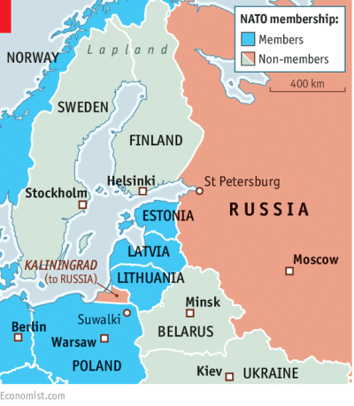 Just visiting - Scandinavia and Russia