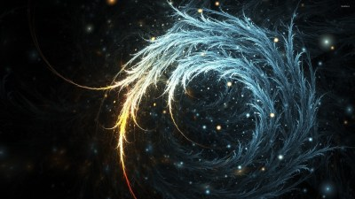 Bright swirl between bright sparks wallpaper - Abstract wallpapers - #52526