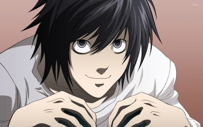 L - Death Note [3] wallpaper - Anime wallpapers - #14078