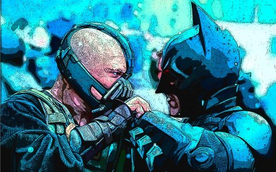 Batman vs Bane - The Dark Knight Rises wallpaper - Movie wallpapers - #33311