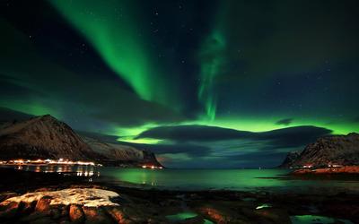 Aurora above Lofoten wallpaper - World wallpapers - #48358