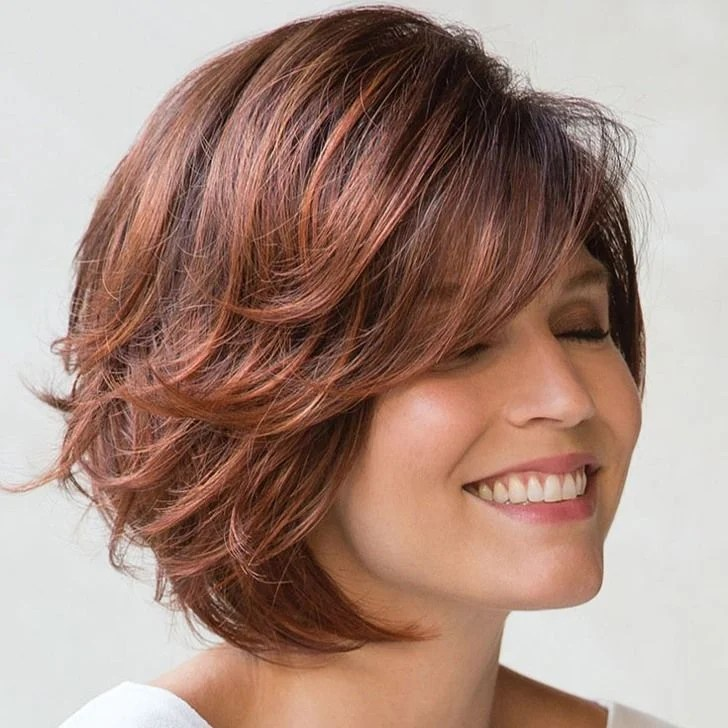 40 Best Bob Haircuts and Hairstyles in 2018  12  Wispy Short Bob Haircut